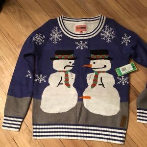 Tipsy Elves ugly Christmas sweater NWT
